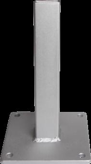grojasolid zub zaunelement konsole gj 45 verzinkt z une sichtschutzelemente im onlineshop. Black Bedroom Furniture Sets. Home Design Ideas