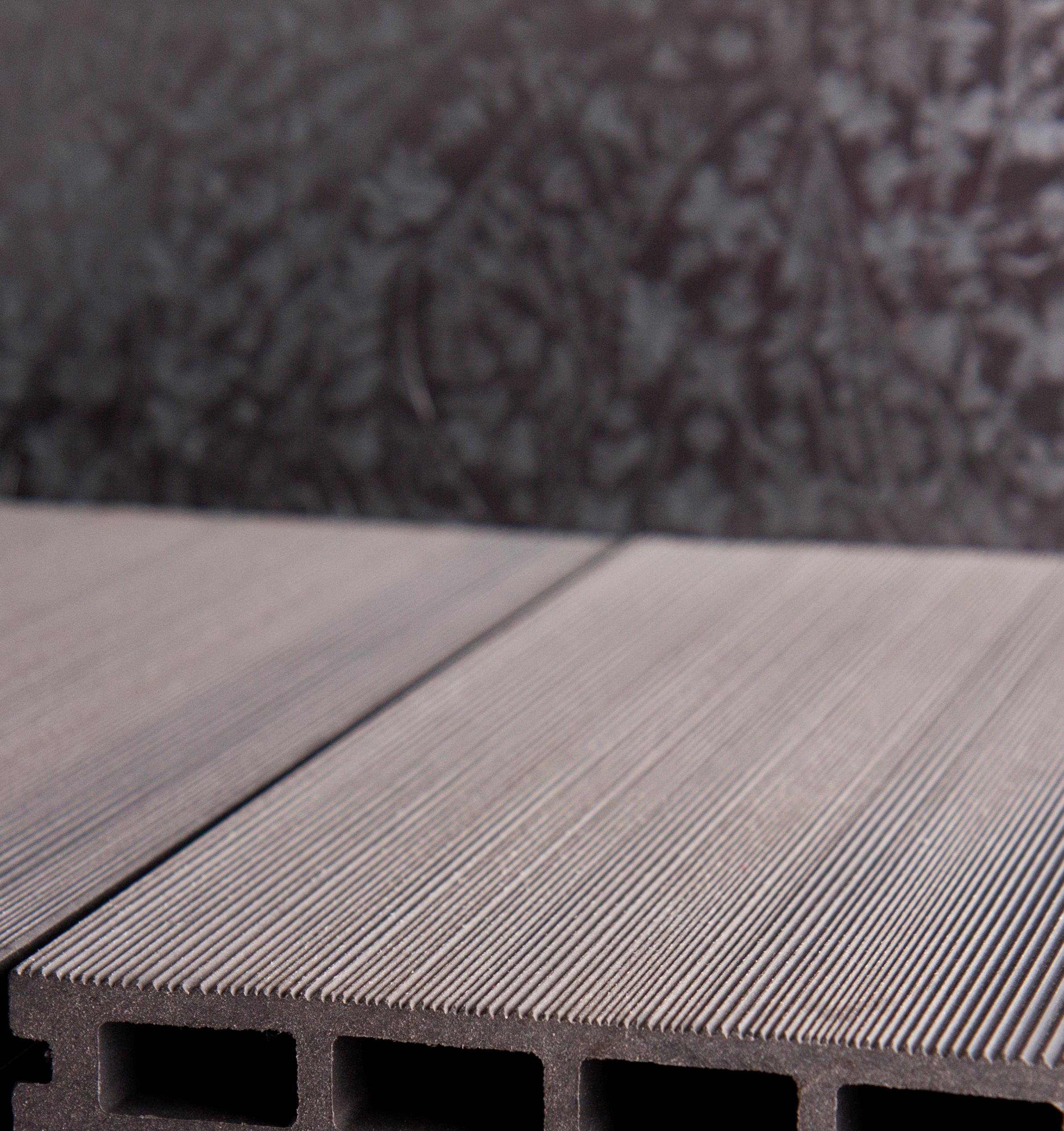 Sichtschutzelemente Kunststoff Grau  GrojaSolid Salus BPC