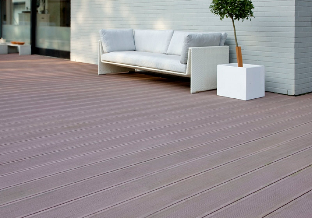 grojasombra wpc terrassendiele strukturiert 162x28 tropical brown z une sichtschutzelemente. Black Bedroom Furniture Sets. Home Design Ideas