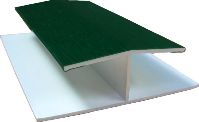 zusatzprofil f r gj200 h profile dekor z une sichtschutzelemente im onlineshop. Black Bedroom Furniture Sets. Home Design Ideas