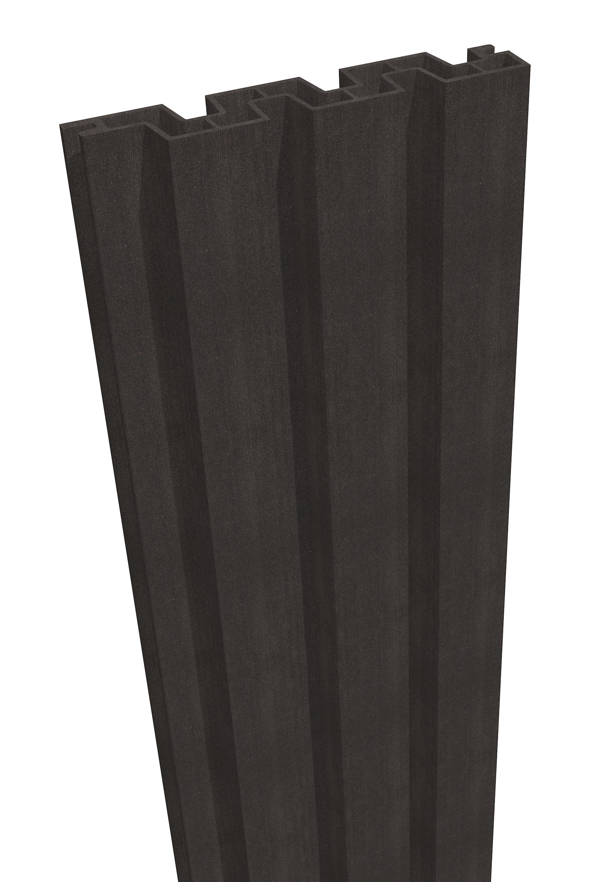 GrojaSombra 180x180x4 cm Schallhemmend Graphite Black