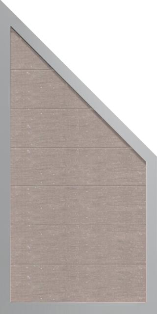 grojaviento zaunelement schr g 90x180 90x4 cm bi color. Black Bedroom Furniture Sets. Home Design Ideas