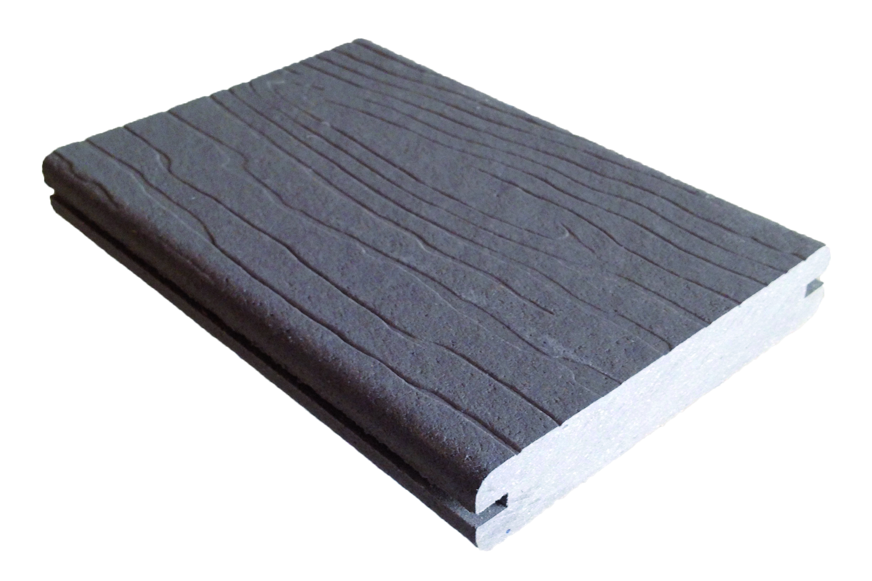 K R Thermo WPC Terrassen le 25 x 137 mm grau