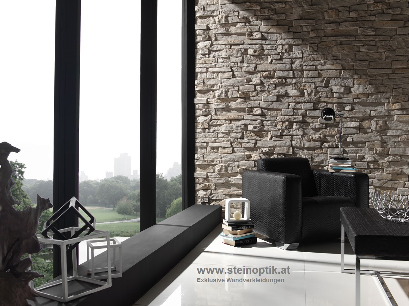 steinoptik paneele z une sichtschutzelemente im onlineshop. Black Bedroom Furniture Sets. Home Design Ideas