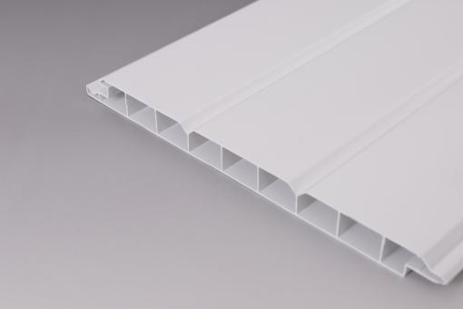 PVC Wand- und Deckenpaneele  weiß 200 mm