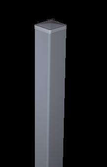 Groja Alupfosten zum Aufdübeln 100/Silbergrau