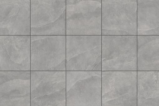 Terrassenplatten Feinsteinzeug Ardesia grau 60x60x2 cm