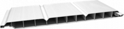 Bauprofile N+F Kunststoff weiß GJ 17/250mm
