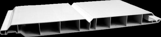 Kunststoff-Paneele GJ 17 / 200 mm N+F weiß durchgefärbt