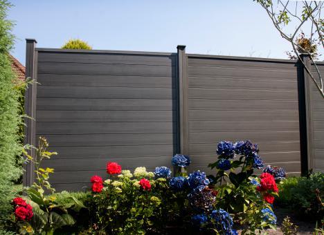 WPC GrojaSombra  180x180x2,7 cm Standard  Graphite Black