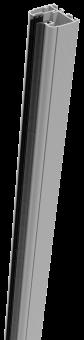 Groja Klemmschiene Aluminium 93,5/Silbergrau