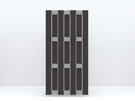 GrojaSolid Hochkant 90x180x3,7 cm Anthrazit