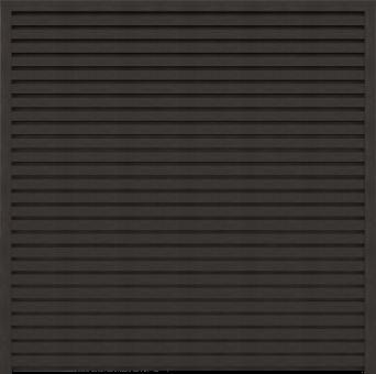 WPC GrojaSombra 180x180x4 cm Schallhemmend Graphite Black