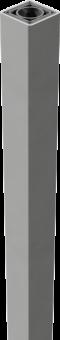 Aluminium Torpfosten 240 cm - speziell verstärkt