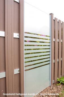 GrojaAmbiente Glas-Sichtschutzelement Senkrecht 120x180 Streifen