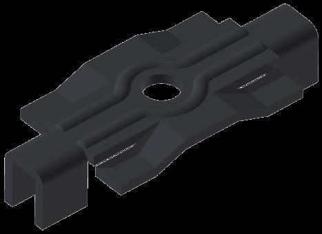 Groja Universal-Doppel-Klammern/Terrassendielen Edelstahl (VE 250 Stk.)