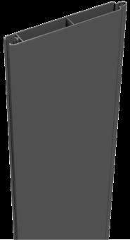 GrojaLumino Alu-Stecksystem Füllung 180 Anthrazit