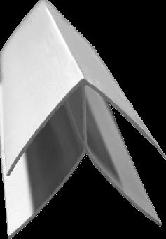 Zusatzprofil GJ 9 mm / kleine Aussenecke