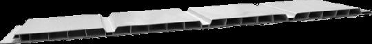 Verkleidungsprofile NF 400 Kunststoff GJ weiß 9/400mm