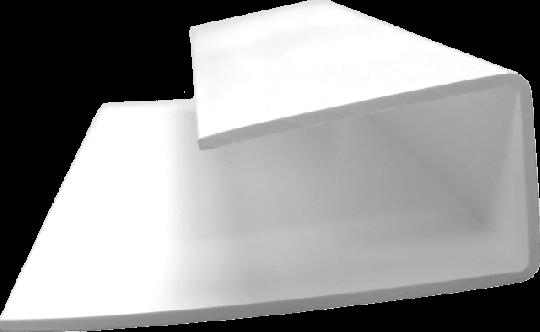 U-Profil für GJ N+F Profile 9 mm