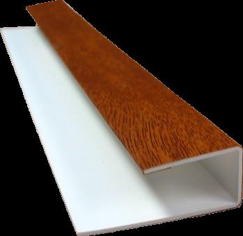 zusatzprofil f r gj200 u profile dekor z une sichtschutzelemente im onlineshop. Black Bedroom Furniture Sets. Home Design Ideas