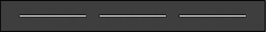 HPL Kassette 216 Dekor Alu Marone 180 x 21,6 cm