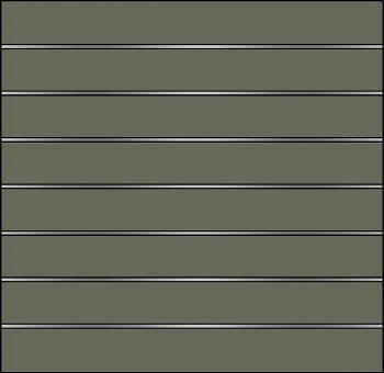 Elevato Sichtschutz HPL 180x175 cm Steingrau