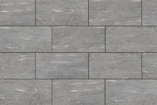 Terrassenplatten Feinsteinzeug Tavola granit 45x90x2 cm