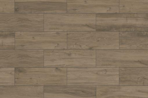 Terrassenplatten Feinsteinzeug Holzoptik - Woodtalk eiche dunkel 395 x 1195 mm