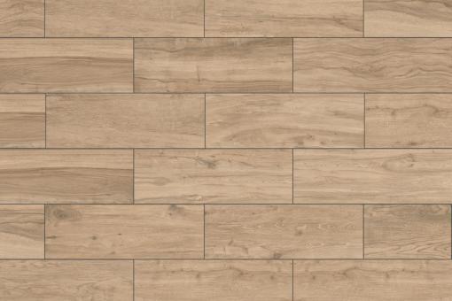 Terrassenplatten Feinsteinzeug Holzoptik Woodtalk eiche hell 395 x 1195 mm