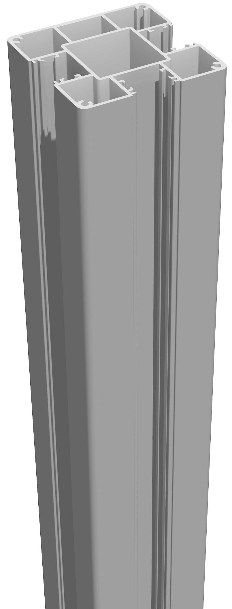 grojalumino alu stecksystem pfosten zum aufd beln 190. Black Bedroom Furniture Sets. Home Design Ideas
