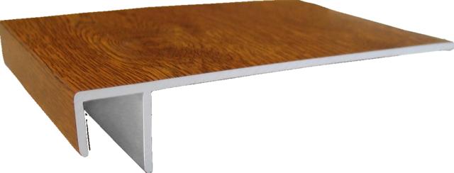 zusatzprofil f r gj200 f profile dekor z une sichtschutzelemente im onlineshop. Black Bedroom Furniture Sets. Home Design Ideas