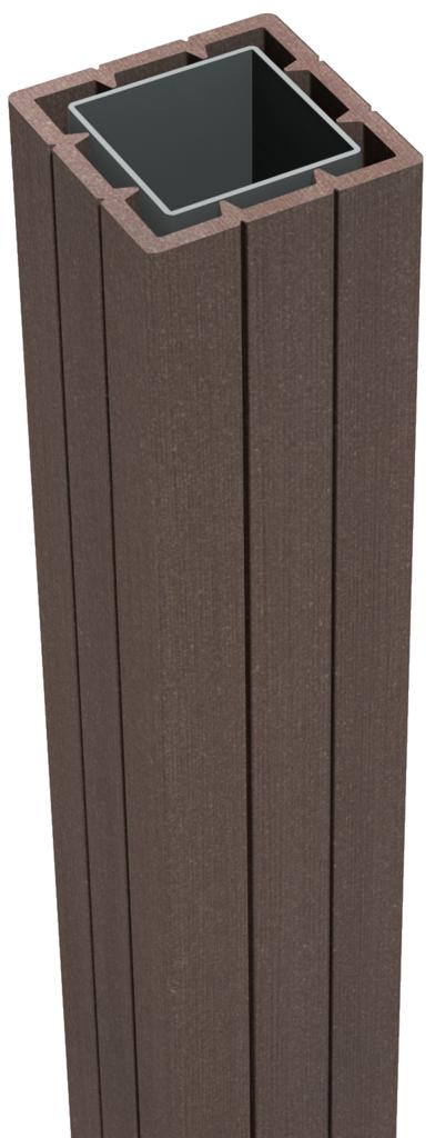 grojasolid zub zaunelement pfosten 190 zum aufd beln terra z une sichtschutzelemente im. Black Bedroom Furniture Sets. Home Design Ideas