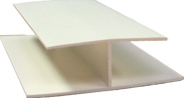 zusatzprofil f r gj200 h profil cremeweiss z une sichtschutzelemente im onlineshop. Black Bedroom Furniture Sets. Home Design Ideas