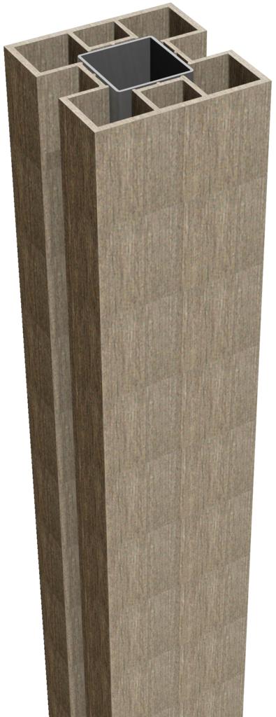 grojatocar stecksystem pfosten zum aufd beln 190 stahlverst rkt z une sichtschutzelemente im. Black Bedroom Furniture Sets. Home Design Ideas