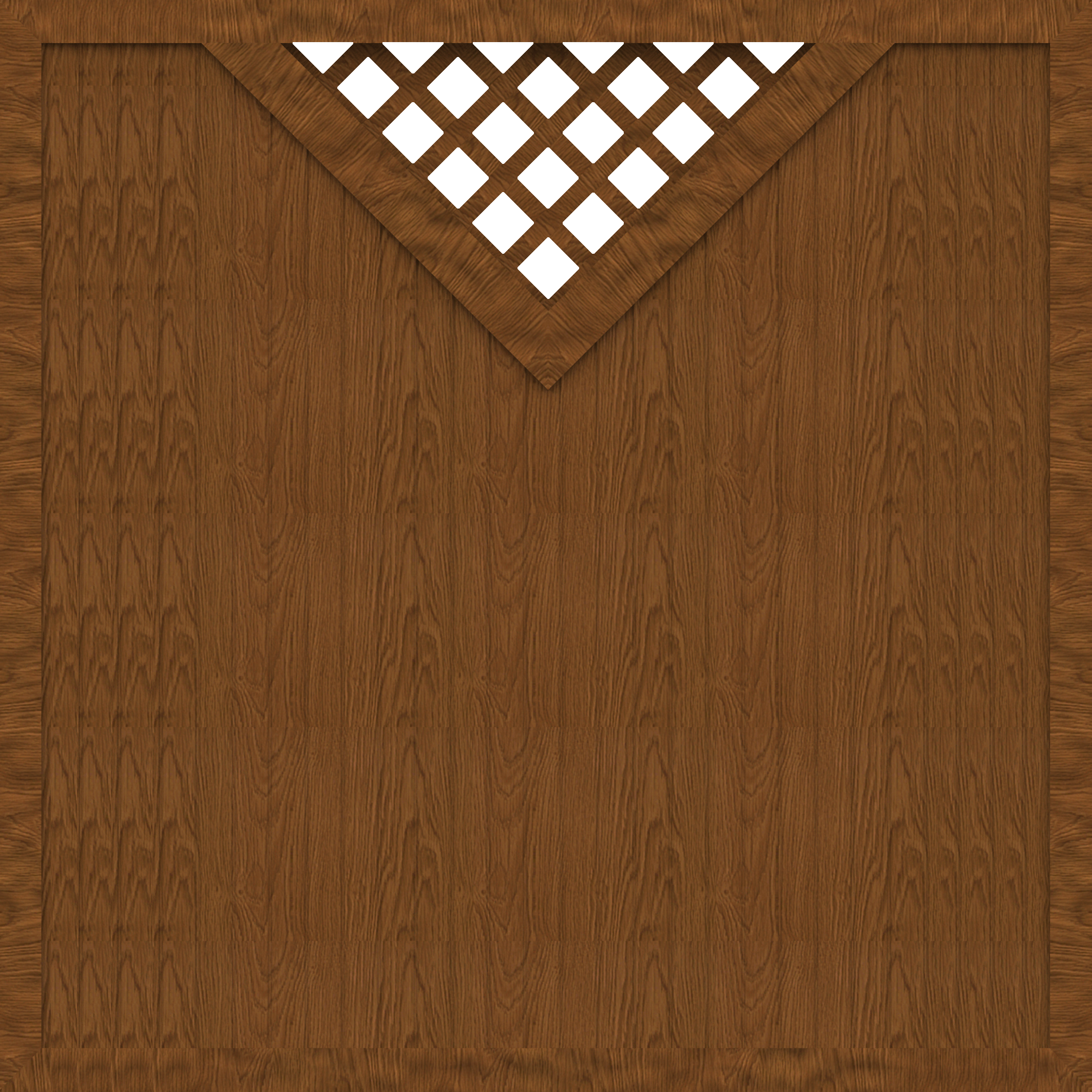 basicline sichtschutz typ b180 holzdekor 180x180 cm z une z une sichtschutzelemente im. Black Bedroom Furniture Sets. Home Design Ideas