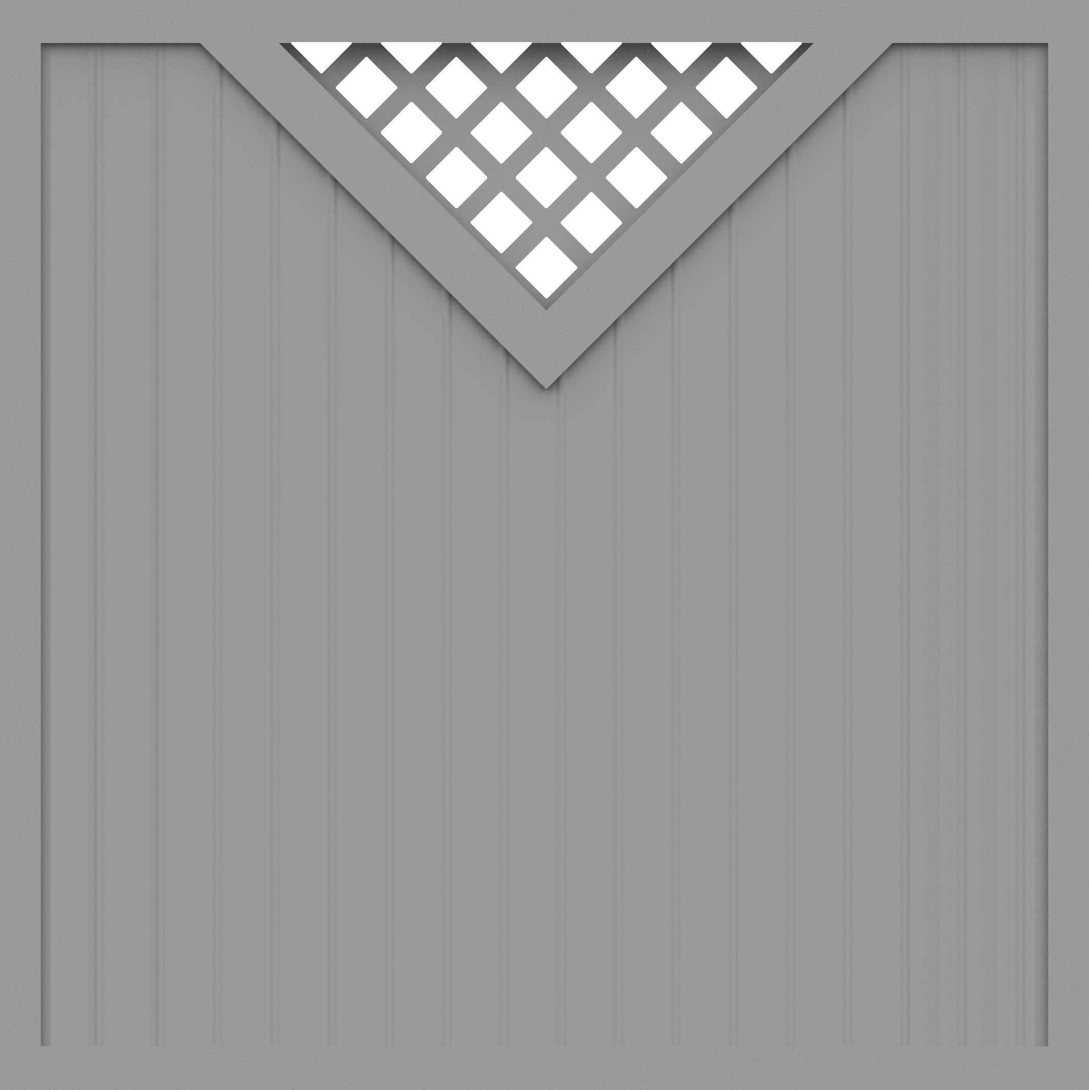 basicline sichtschutz typ b180 silbergrau 180x180 z une sichtschutzelemente im onlineshop. Black Bedroom Furniture Sets. Home Design Ideas