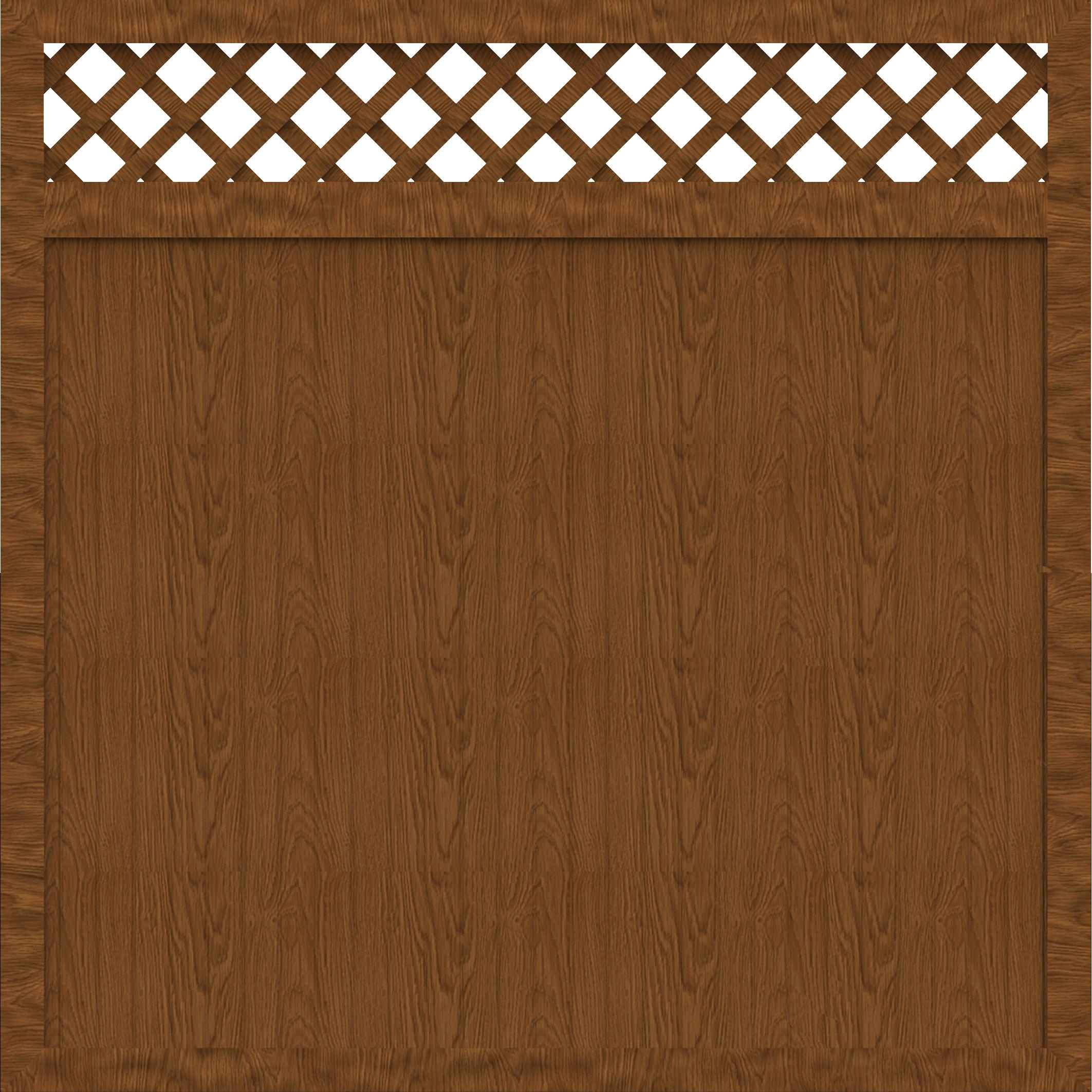 basicline sichtschutz typ c 180 holzdekor 180x180 cm z une z une sichtschutzelemente im. Black Bedroom Furniture Sets. Home Design Ideas