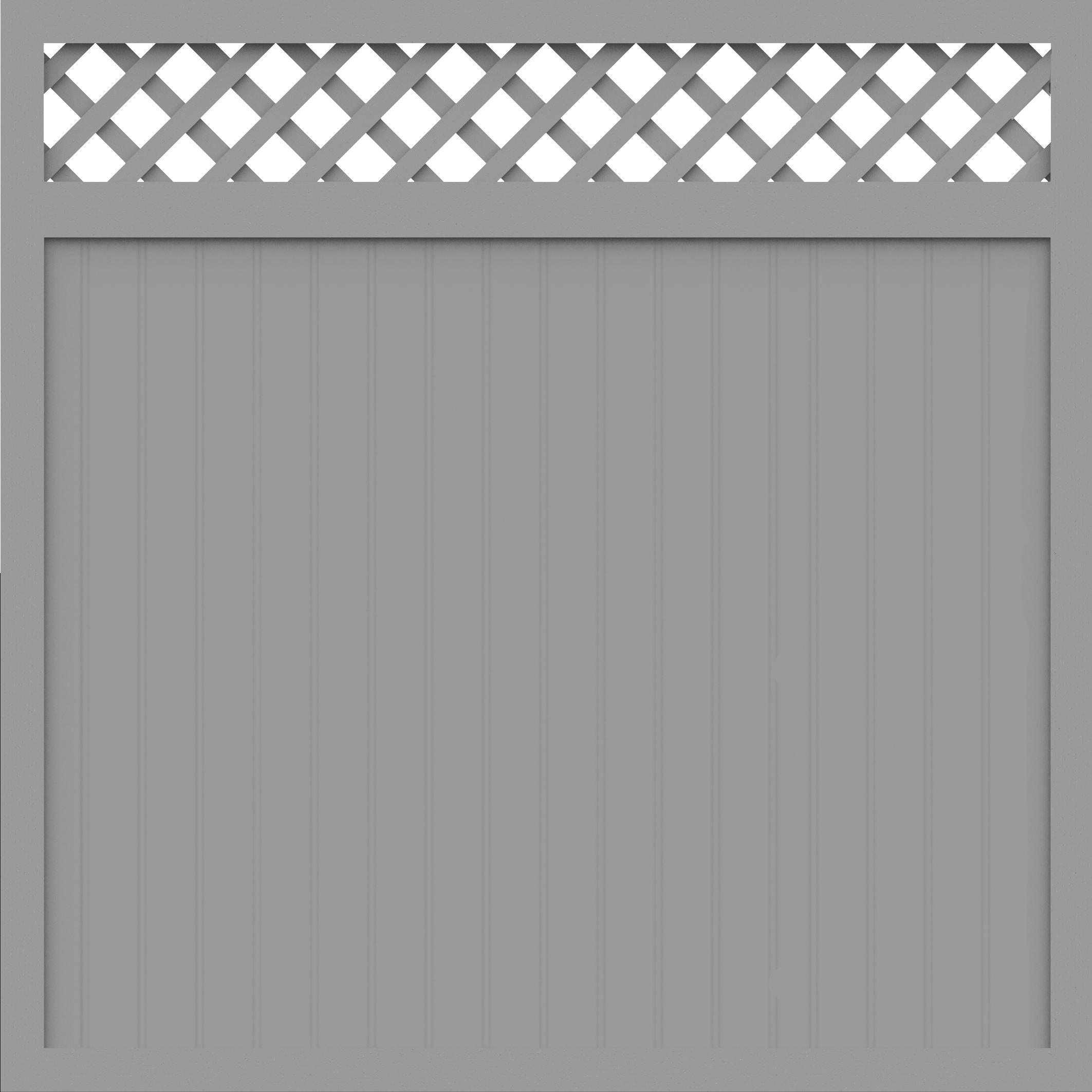 basicline sichtschutz typ c 180 silbergrau 180x180 z une. Black Bedroom Furniture Sets. Home Design Ideas