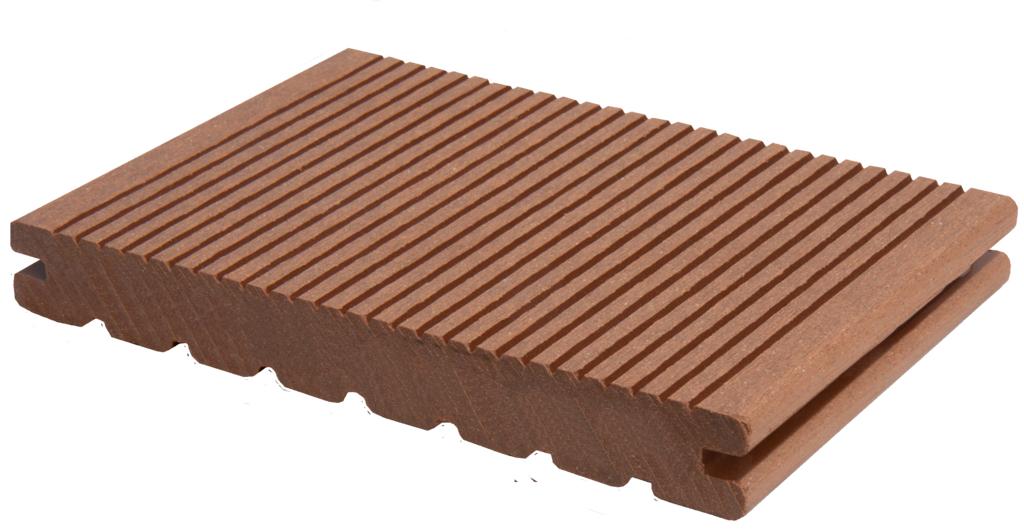 grojasolid plenus bpc terrassendiele 145x20 mm braun bpc z une sichtschutzelemente im. Black Bedroom Furniture Sets. Home Design Ideas