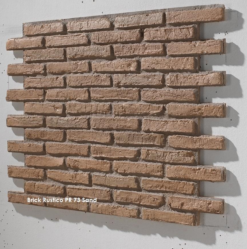 Steinoptik paneel brick rustico z une for Steinoptik paneele