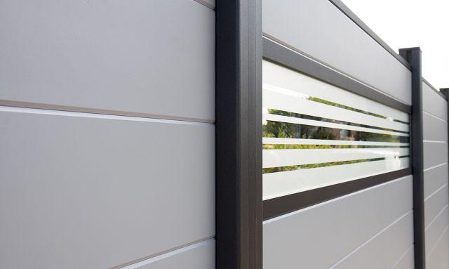 Sichtschutzelemente Aluminium Zaune Sichtschutzelemente Im