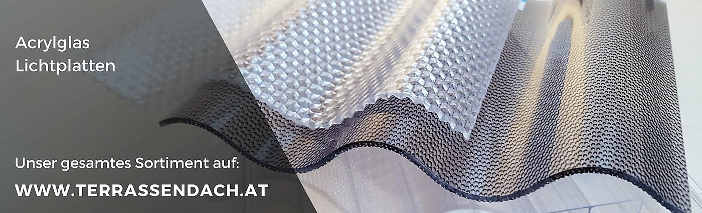 sinusprofil acrylglas 76 18 3 0mm glashell glatt z une sichtschutzelemente im onlineshop. Black Bedroom Furniture Sets. Home Design Ideas