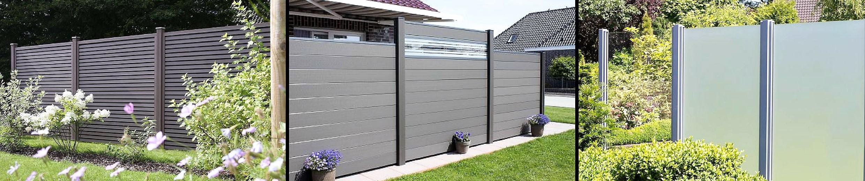 Sichtschutzzaun Kunststoff Fur Garten Und Terrasse Zaune