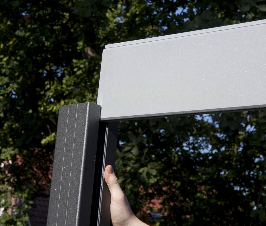 Sichtschutz Aluminium Zaune Sichtschutzelemente Im Onlineshop
